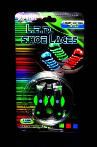 LED Shoelaces!